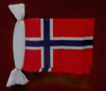Norway Bunting, rectangular, 9 metre.